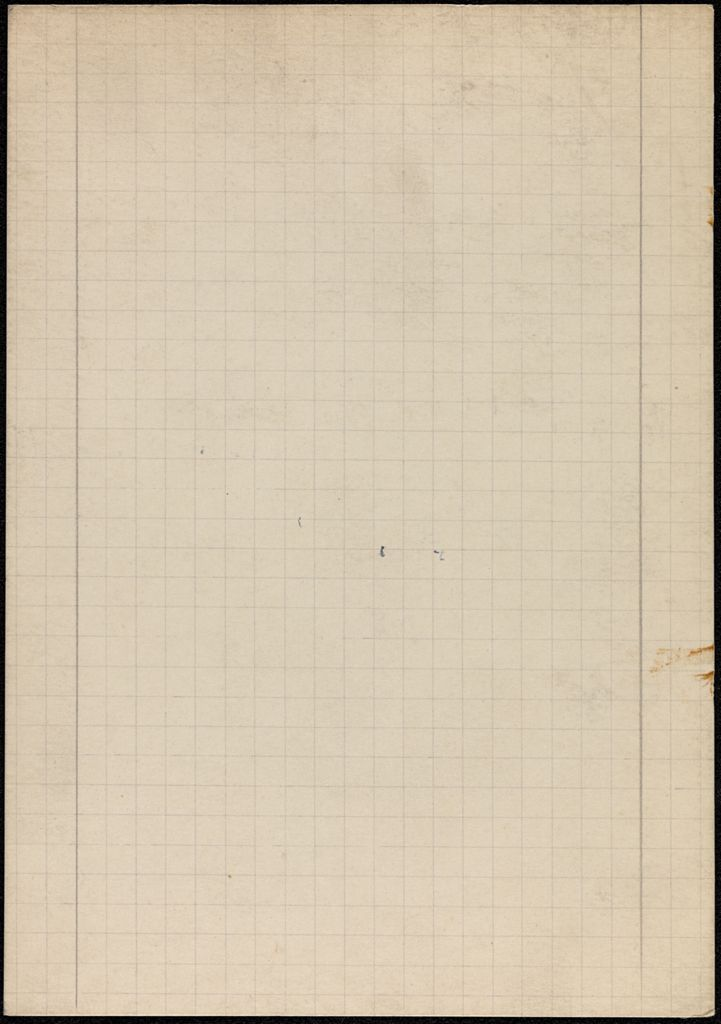 Mrs. B. Chanler Blank card (large view)