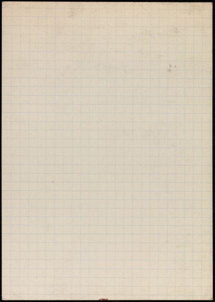 Jean Bruno Blank card