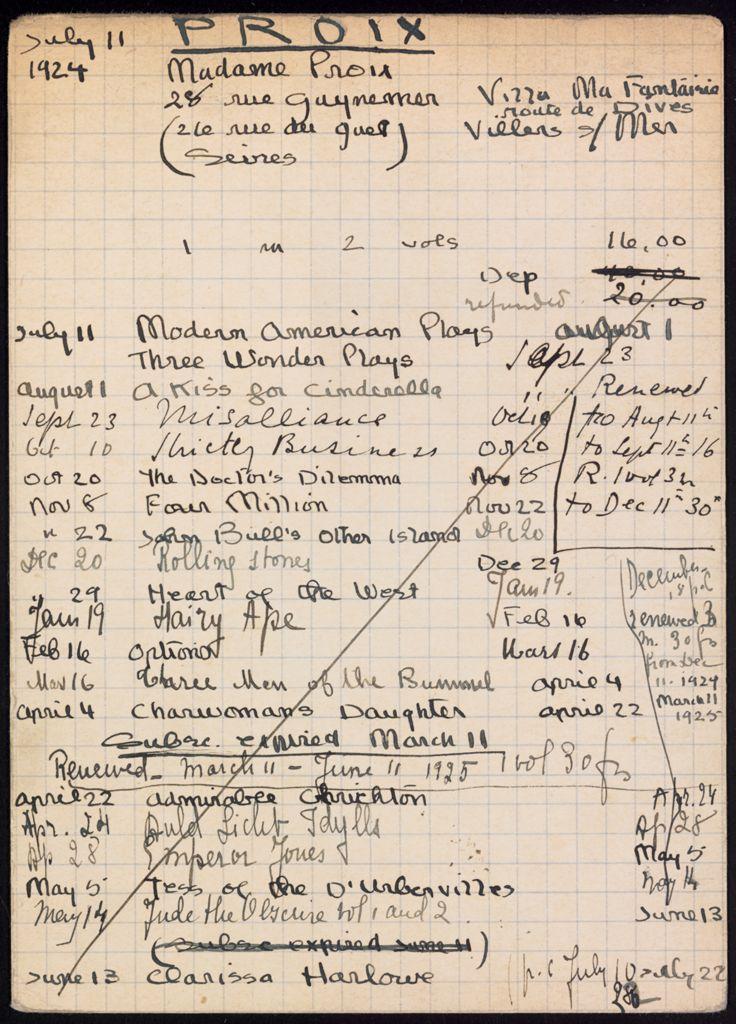 Troise Proix 1924 – 1925 card (large view)