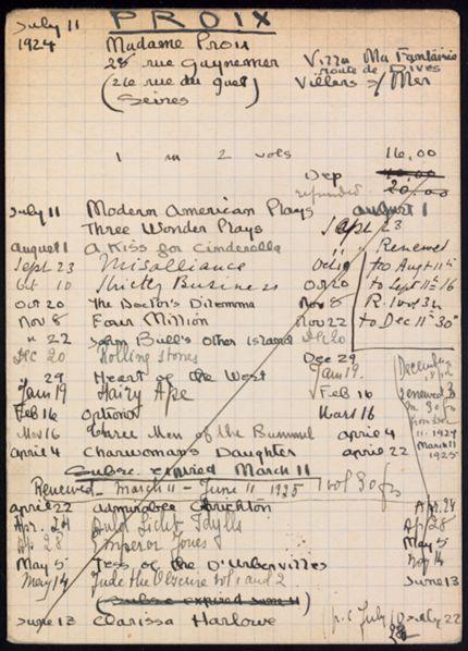 Troise Proix 1924 – 1925 card