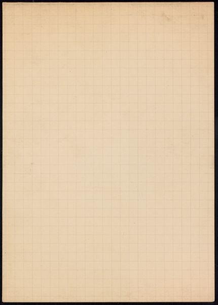 Miss Fitzgerald Blank card