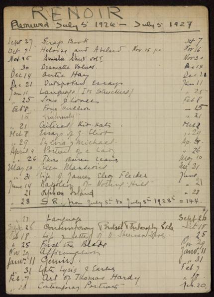 Edmond Renoir 1926 – 1928 card