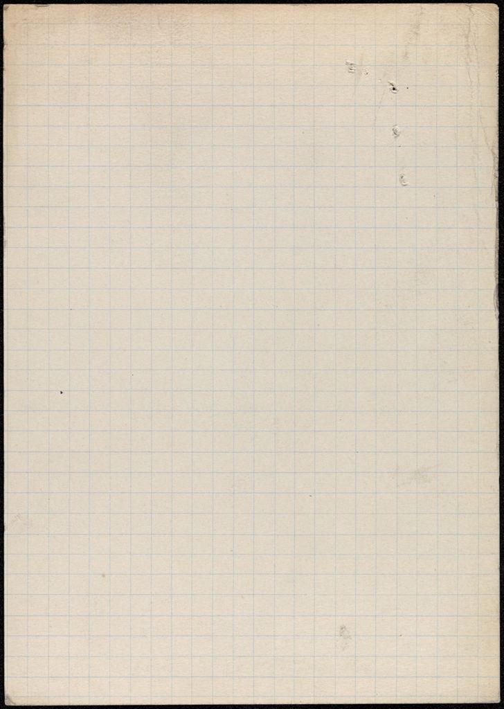 Étienne Coche de la Ferté Blank card (large view)