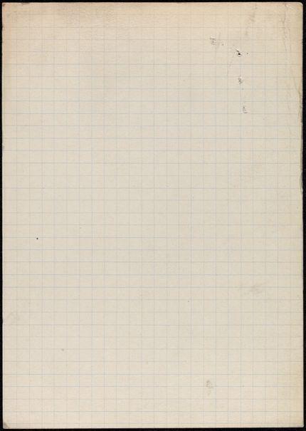 Étienne Coche de la Ferté Blank card