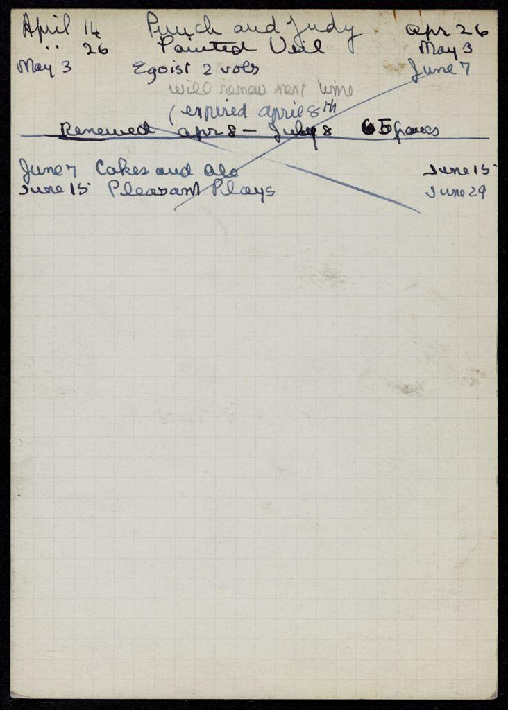 Mlle Mathieu de Vienne 1938 card (large view)