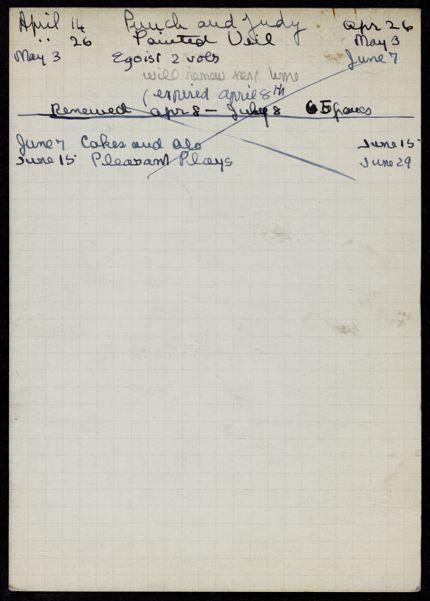 Mlle Mathieu de Vienne 1938 card