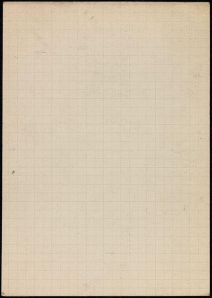 Mary Maryse Charbonnel Blank card