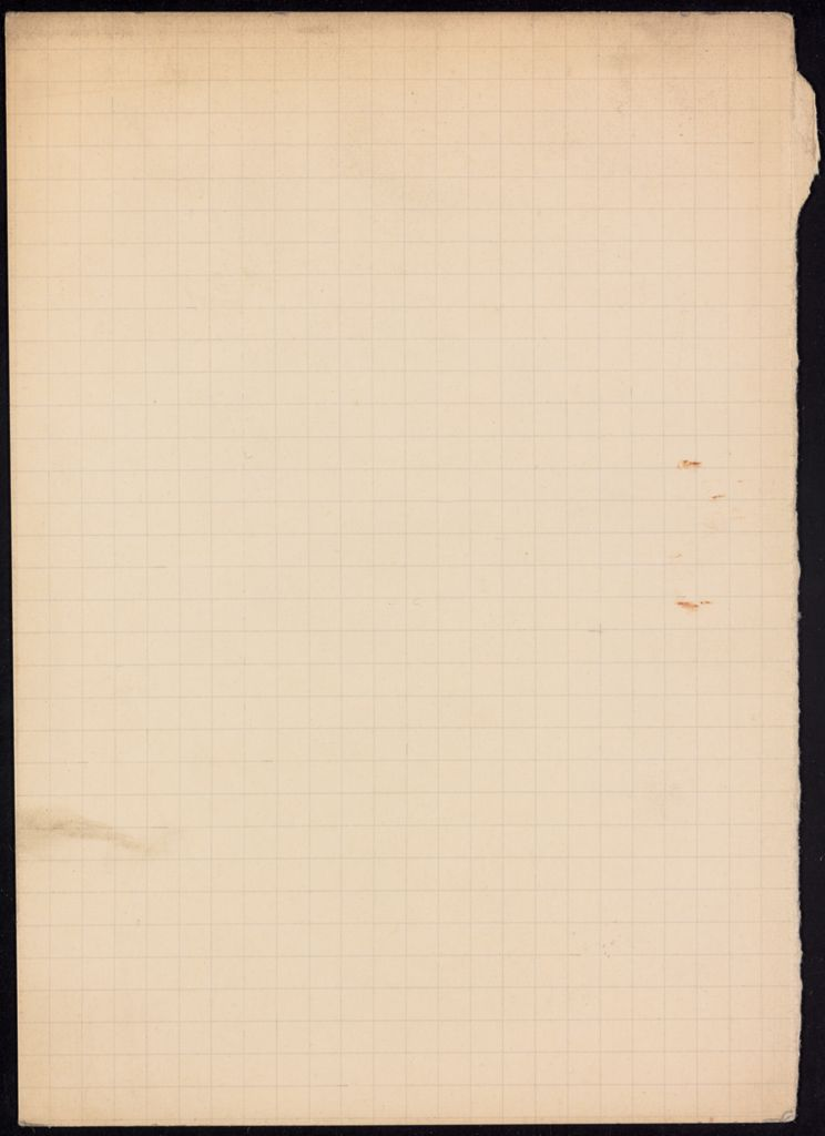 Georg Goyert Blank card (large view)