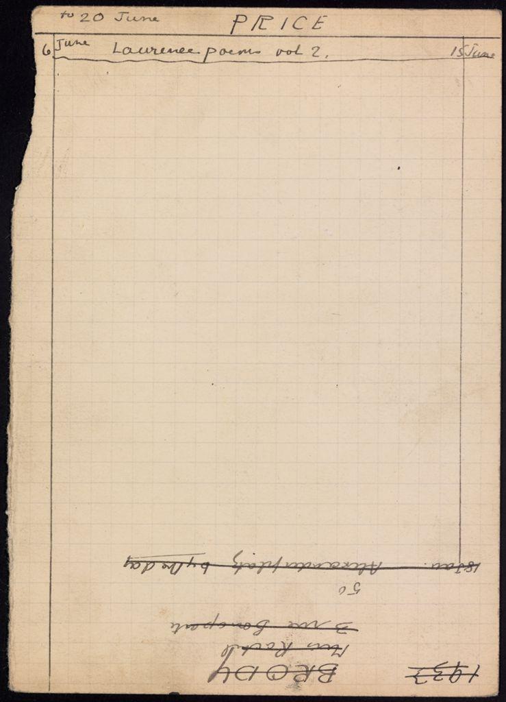 Phyllis Price 1933 card (large view)
