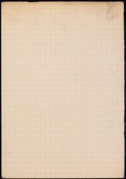 F. King Blank card