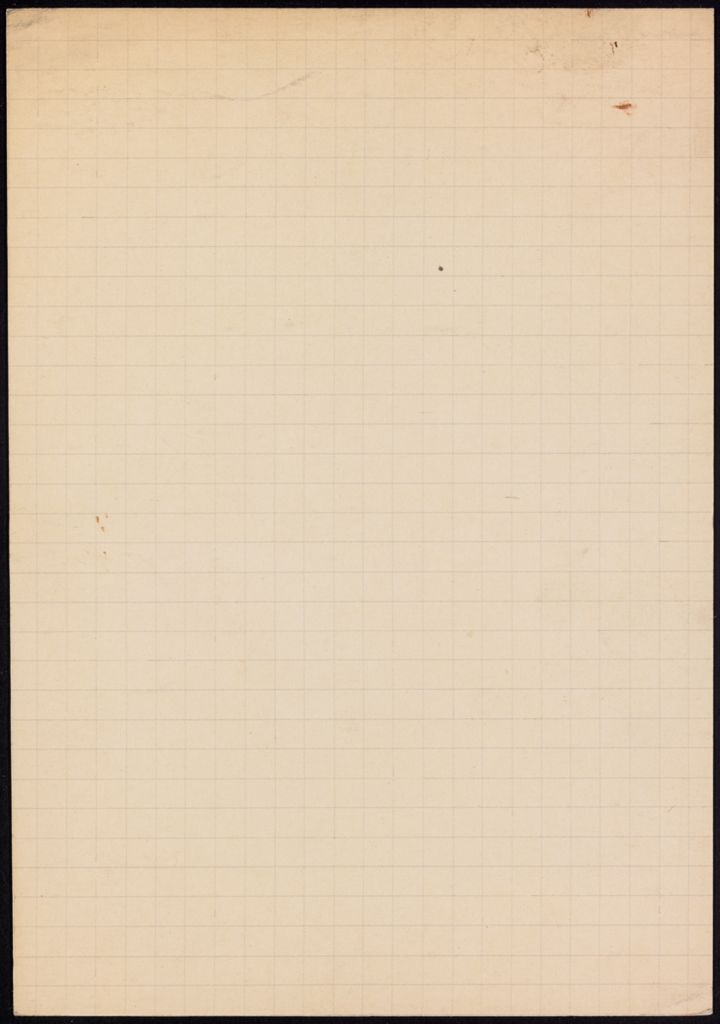 M. Payot Blank card (large view)