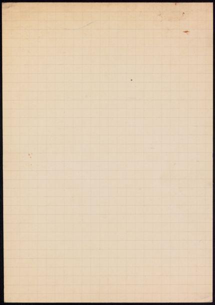 M. Payot Blank card