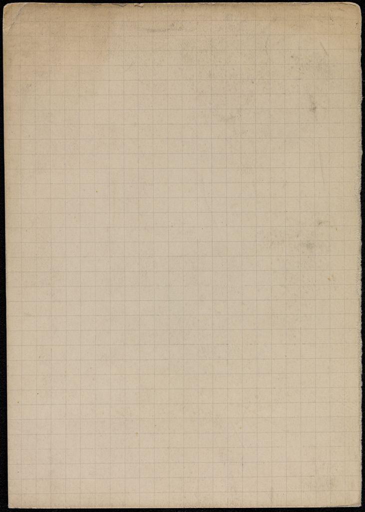Richard Aldington Blank card (large view)