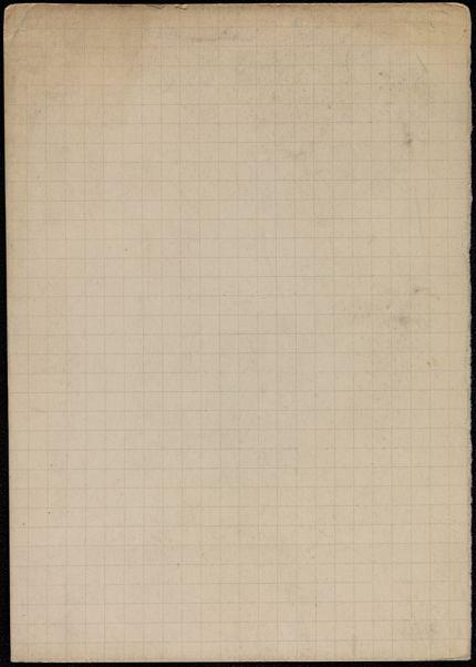 Richard Aldington Blank card