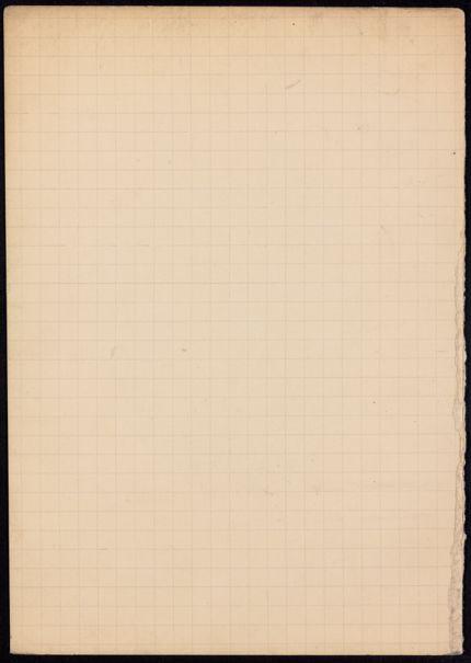 U. Hobhouse Blank card