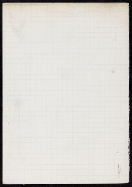 McNair Blank card