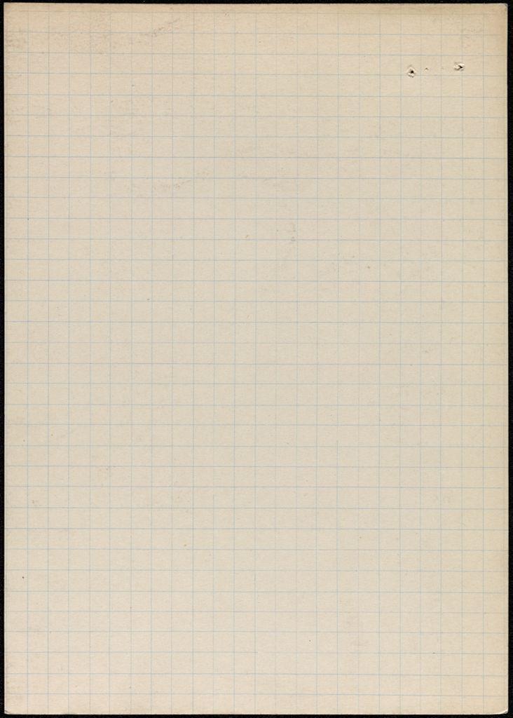 Alden Brooks Blank card (large view)