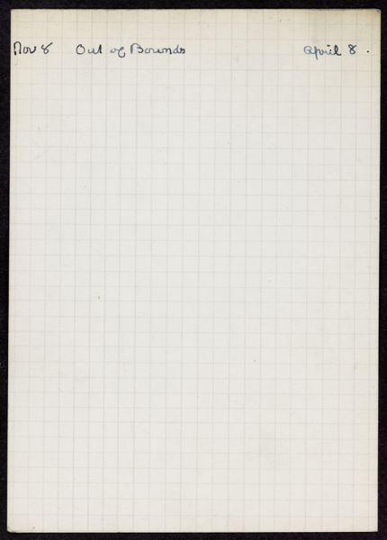 Jacques Mercanton 1937 – 1938 card