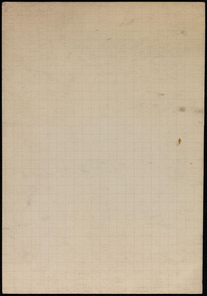 Pauline Alderman Blank card (large view)