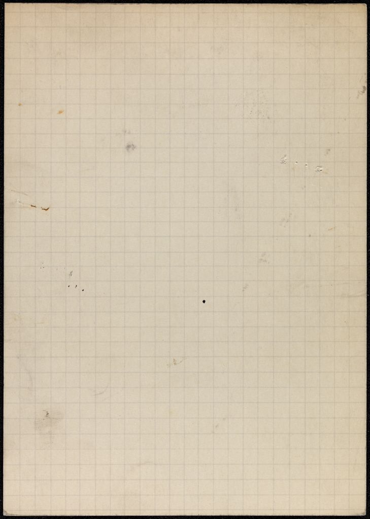 Cyril Connolly Blank card (large view)