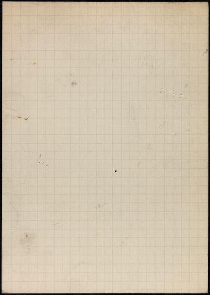 Cyril Connolly Blank card