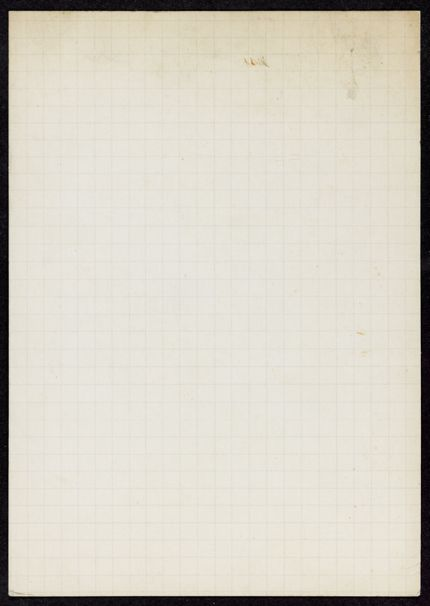 James Stern Blank card