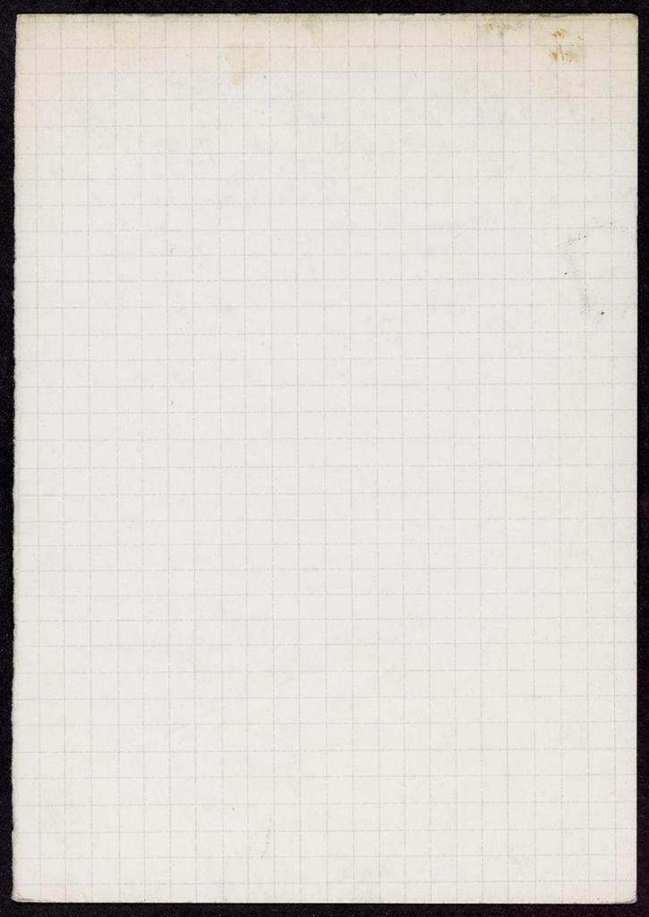 Thomas N. Metcalf Blank card (large view)