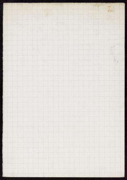 Thomas N. Metcalf Blank card