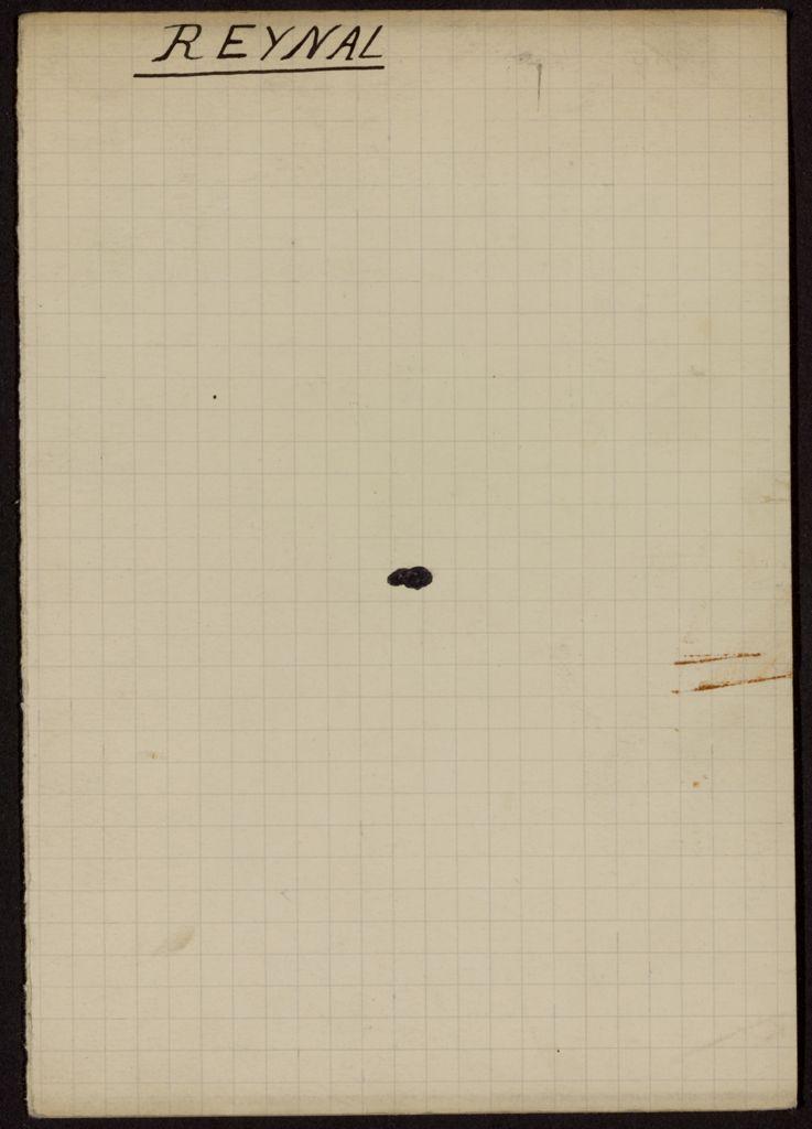 Jeanne Reynal Blank card (large view)