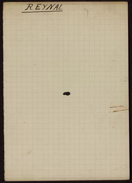 Jeanne Reynal Blank card