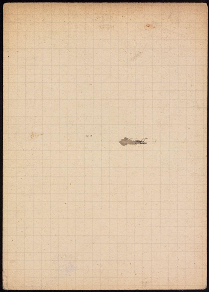 Mlle de Pfeffel Blank card (large view)