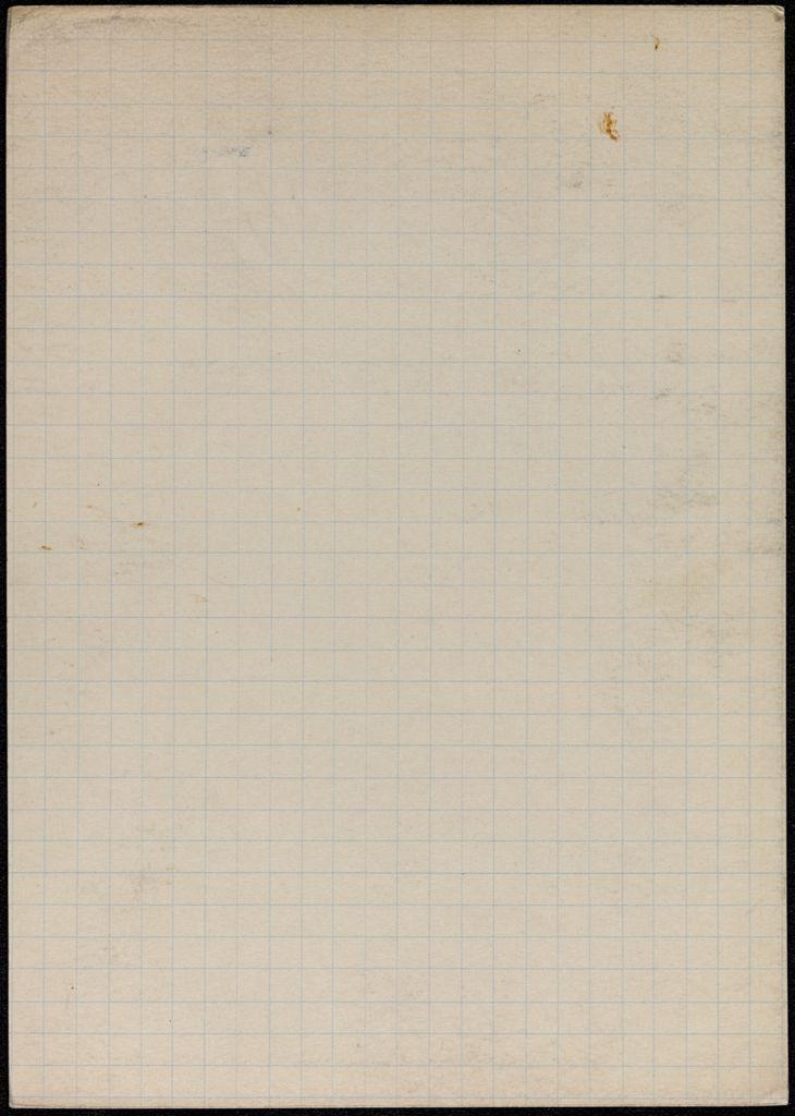 Walter Benjamin Blank card (large view)