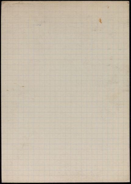 Walter Benjamin Blank card