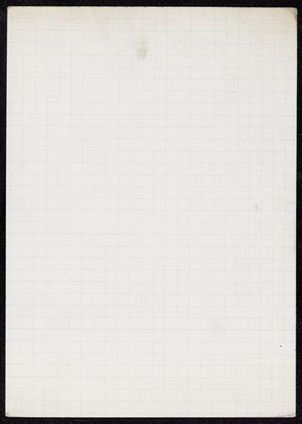 Mesures Blank card