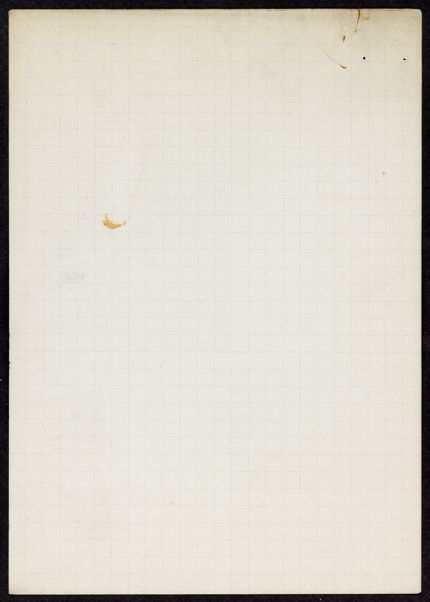 Jacques Mercanton Blank card