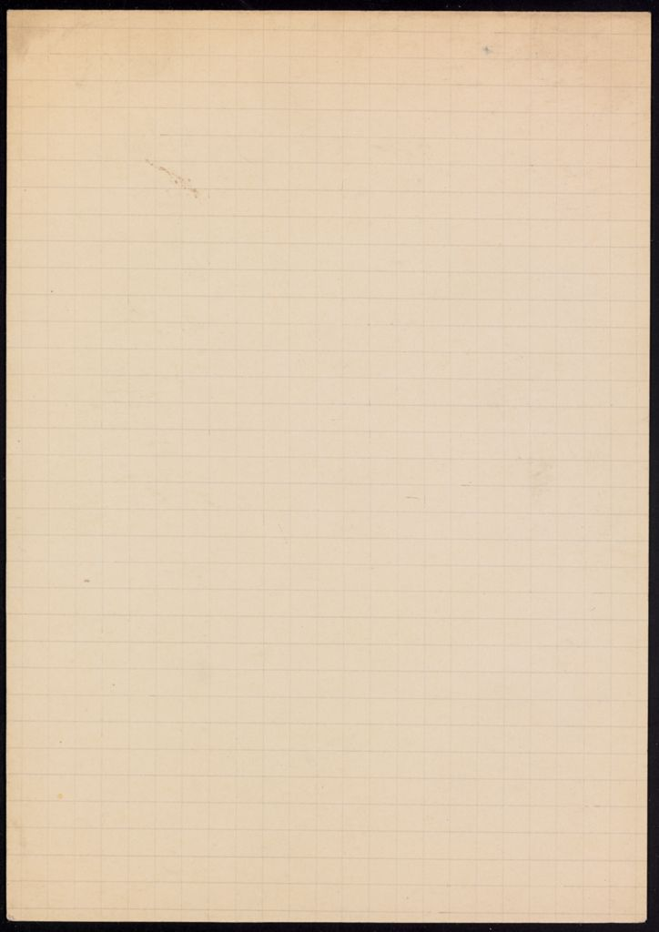 Douglas Parmée Blank card (large view)