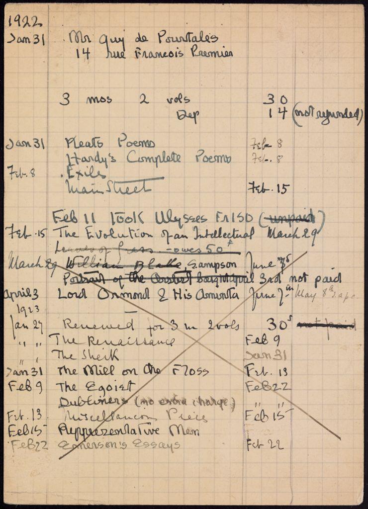 Guy de Pourtales 1922 – 1923 card (large view)