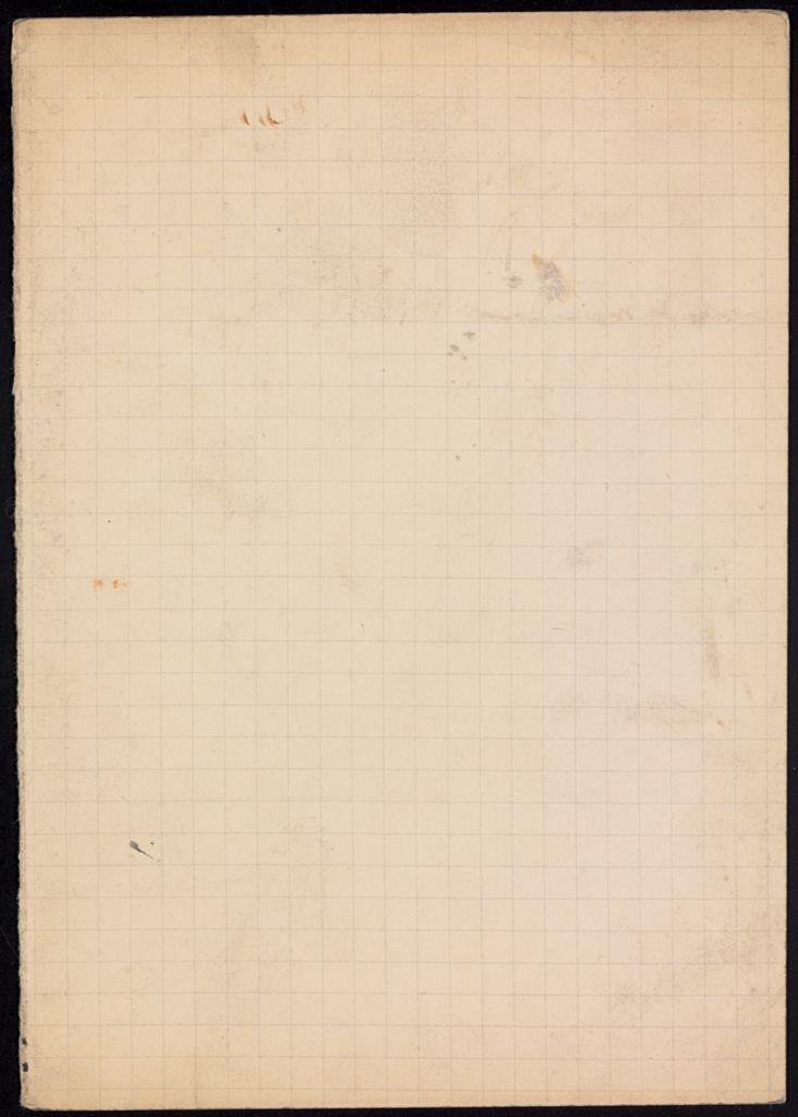 Mme de la Foret Blank card (large view)