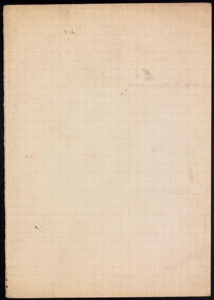 Mme de la Foret Blank card