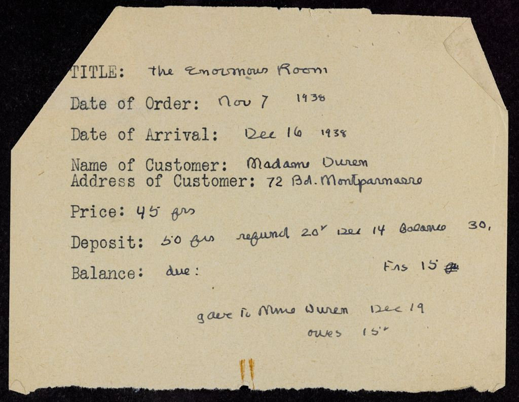 Jean Duren 1938 card (large view)