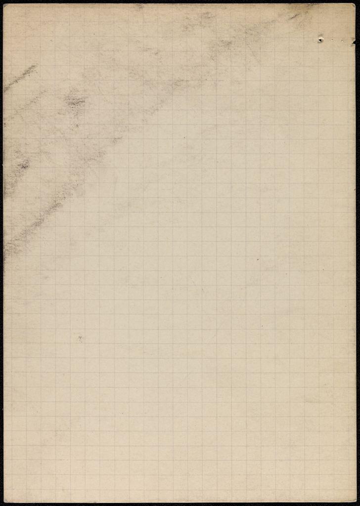 Aimé Césaire Blank card (large view)