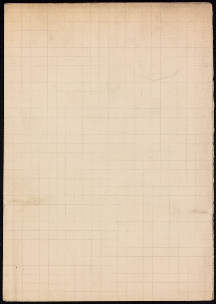 George Oppen Blank card (large view)
