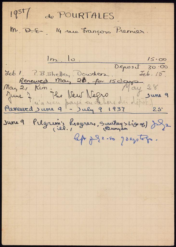 Guy de Pourtales 1937 card (large view)