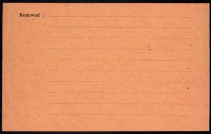 André de la Forest-Divonne Blank card