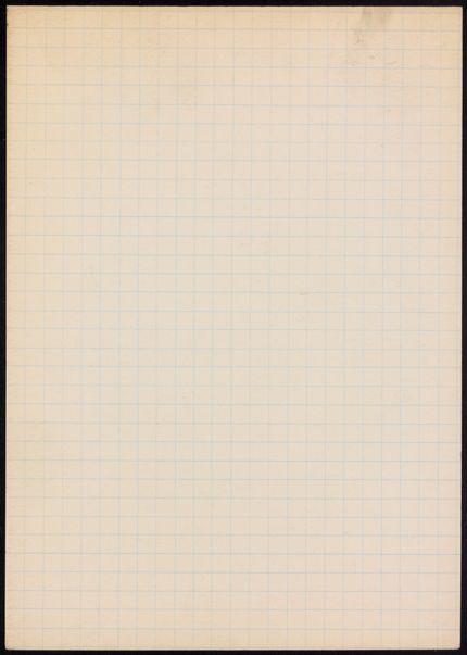 David Ponsonby Blank card