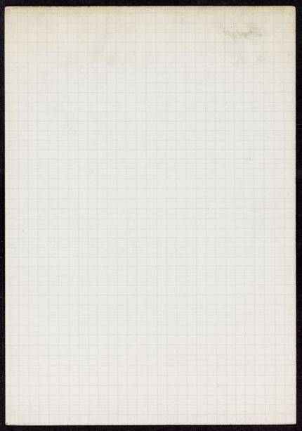 Theodore Morison Blank card