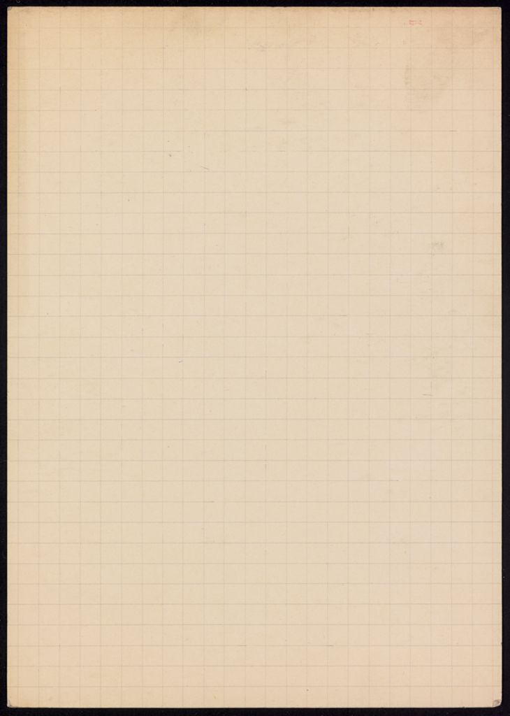 M. Fournerey Blank card (large view)