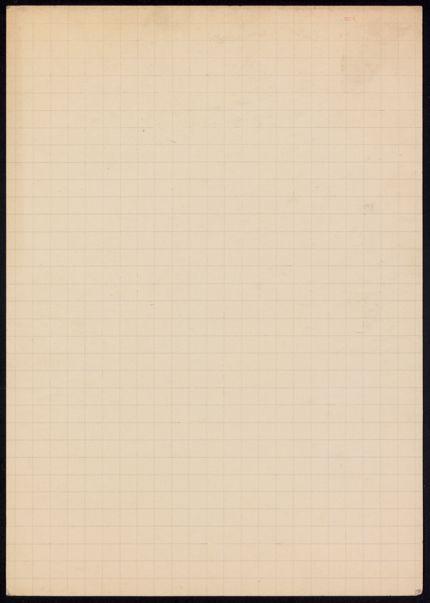 M. Fournerey Blank card