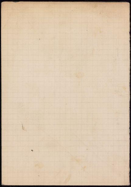 T. M. James Blank card